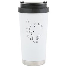 Cute Reporter Travel Mug