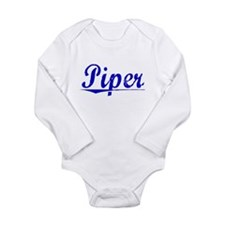 Cute Piper Long Sleeve Infant Bodysuit