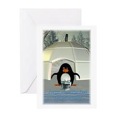 Pongo - Greeting Card 5x7 Single Card