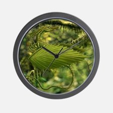 Earth Leaf Dragon Wall Clock