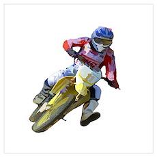 Motocross Driver Poster