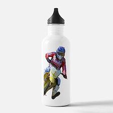 Motocross Driver Water Bottle