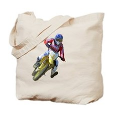 Motocross Driver Tote Bag