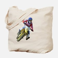 Motocross Driver Tote Bag