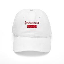 Indonesian Flag Baseball Cap