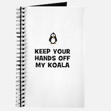 keep your hands off my koala Journal