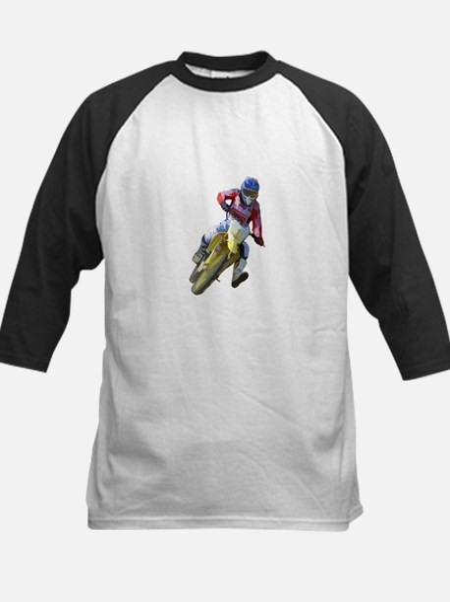 Motocross Driver Baseball Jersey