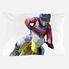 Motocross Driver Pillow Case