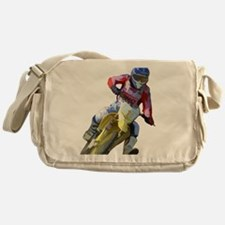 Motocross Driver Messenger Bag