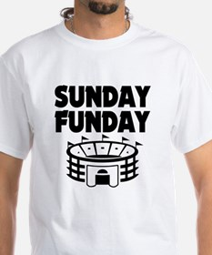 Sunday Funday Funny Football T-Shirt