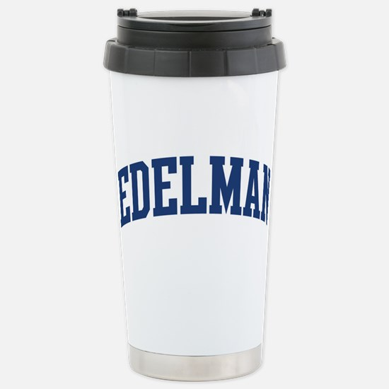 EDELMAN design (blue) Mugs