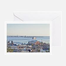 Unique Ferries Greeting Card