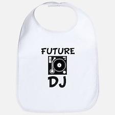 Future DJ funny baby boy Bib