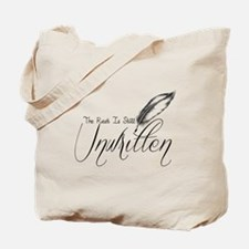 Unwritten Tote Bag