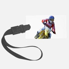 Motocross Driver Luggage Tag