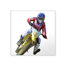 Motocross Driver Sticker
