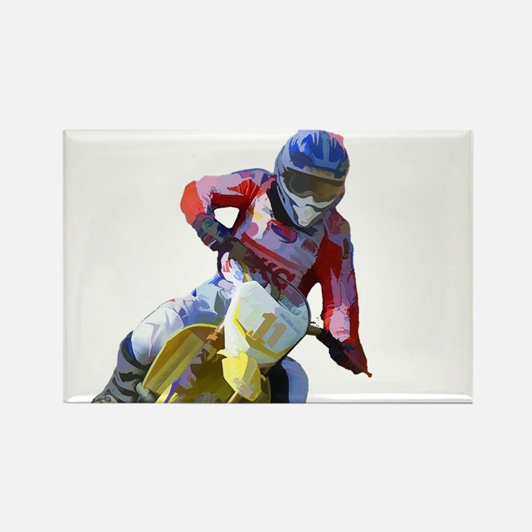 Motocross Driver Magnets