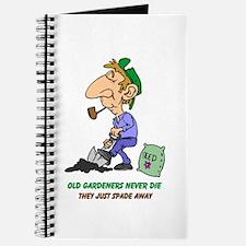 Old Gardeners Never Die Journal