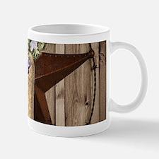 rustic barn texas cowgirl boots Mugs