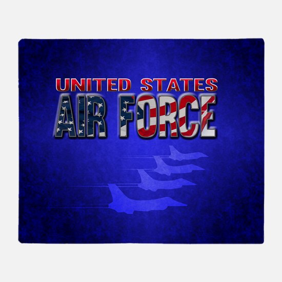 Air Force Throw Blanket