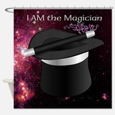 I Am The Magician Shower Curtain