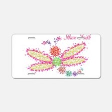 Have Faith - Colorful Dragonfly Design Aluminum Li