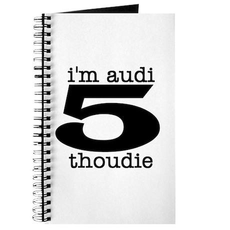 """I'm Audi"" Journal"