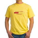 GODDESS LOADING Yellow T-Shirt