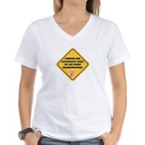 Mastectomy Womens V-Neck T-shirts