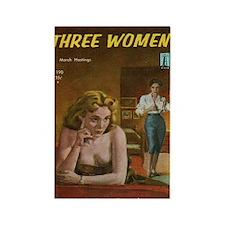 Three Women Rectangle Magnet
