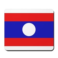 Laotian Flag Mousepad