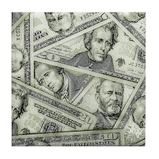 Money Tile Coaster