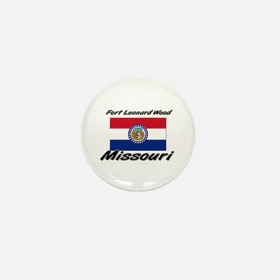 Fort Leonard Wood Missouri Mini Button
