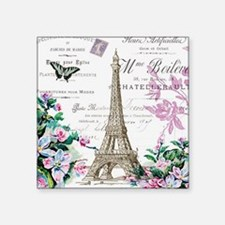 "Paris VIIII Square Sticker 3"" x 3"""
