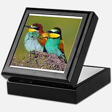 European Bee-eaters Keepsake Box