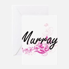 Murray surname artistic design with Greeting Cards