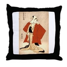 Kabuki Actor Iwai Hanshiro as Kashiku Throw Pillow