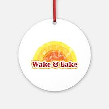 Wake and Bake Ornament (Round)