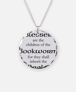Book worm love Necklace
