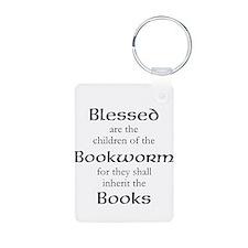 Book worm love Keychains