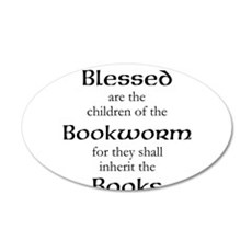 Book worm love Wall Decal