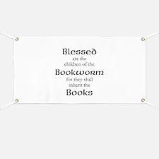 Book worm love Banner