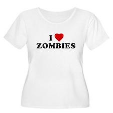 I Love [Heart] Zombies T-Shirt