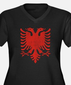 Albanian Eagle Plus Size T-Shirt