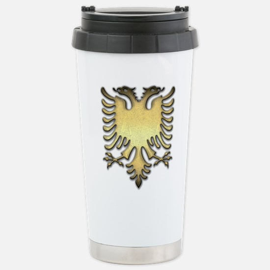 Gold Eagle Travel Mug