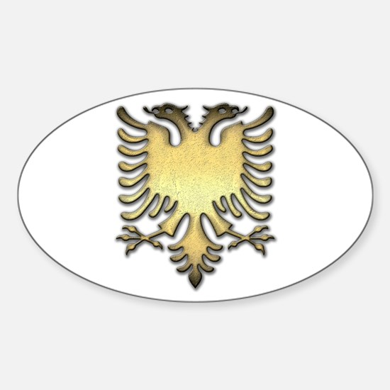 Gold Eagle Decal