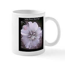 Flowers-White-Black-Bold Mugs