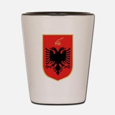 Albanian Coat of Arms Shot Glass