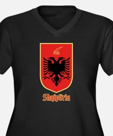 Albanian Coat of Arms Plus Size T-Shirt