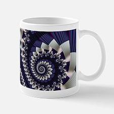 """""""Pleats 3"""" Fractal Art Mug"""